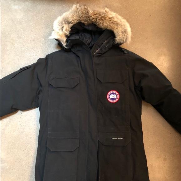 Canada Goose Expedition Parka Women's Jacket Black